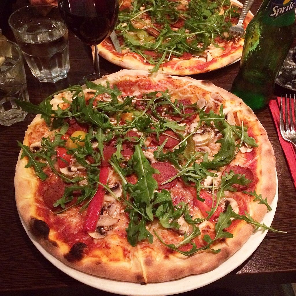 """Photo of Feca  by <a href=""""/members/profile/treemelody"""">treemelody</a> <br/>Piccante pizza - very good! <br/> October 13, 2017  - <a href='/contact/abuse/image/69651/314888'>Report</a>"""