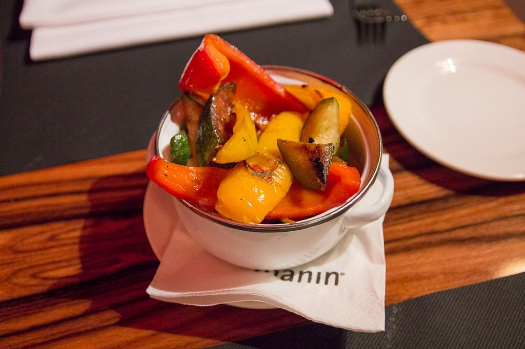 """Photo of manin  by <a href=""""/members/profile/SVEggieSI"""">SVEggieSI</a> <br/>Grilled vegetables (can be ordered as a side dish or as a topping for the mixed salad) <br/> February 19, 2016  - <a href='/contact/abuse/image/69693/136858'>Report</a>"""