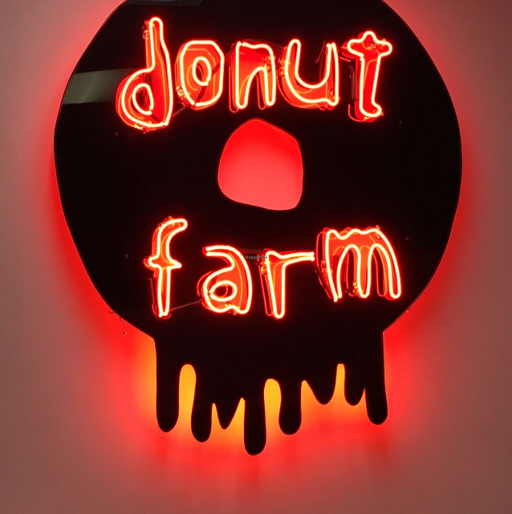 """Photo of Donut Farm  by <a href=""""/members/profile/cha-yen%20monster"""">cha-yen monster</a> <br/>signage <br/> February 20, 2016  - <a href='/contact/abuse/image/69727/137004'>Report</a>"""