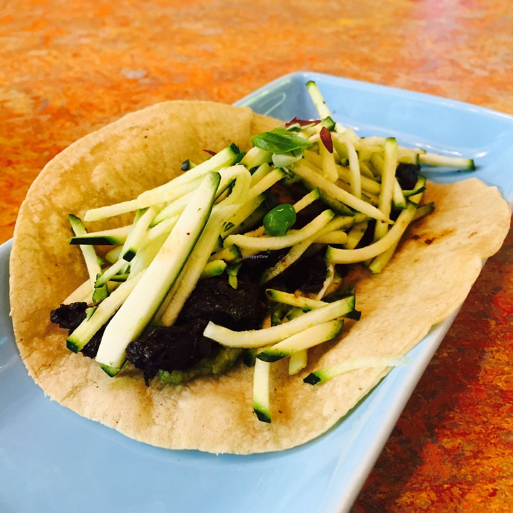 """Photo of Fonda  by <a href=""""/members/profile/karlaess"""">karlaess</a> <br/>Portabello & shitake mushroom taco <br/> March 17, 2016  - <a href='/contact/abuse/image/69728/140349'>Report</a>"""