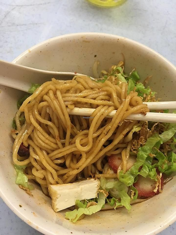 """Photo of Pang Zhen Vegetarian Restaurant  by <a href=""""/members/profile/JimmySeah"""">JimmySeah</a> <br/>Dry noodles <br/> October 8, 2017  - <a href='/contact/abuse/image/69735/313122'>Report</a>"""