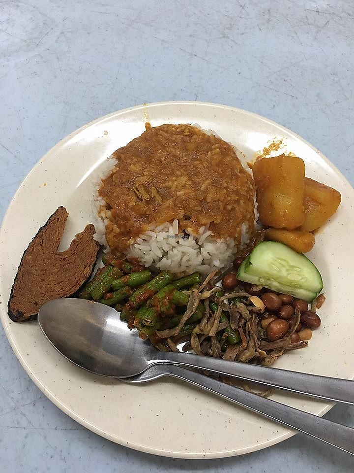 """Photo of Pang Zhen Vegetarian Restaurant  by <a href=""""/members/profile/JimmySeah"""">JimmySeah</a> <br/>Mutton curry rice  <br/> October 8, 2017  - <a href='/contact/abuse/image/69735/313123'>Report</a>"""