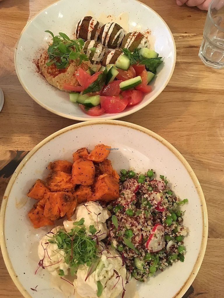 "Photo of CLOSED: Deliciously Ella - Seymour  by <a href=""/members/profile/SuzyJones"">SuzyJones</a> <br/>Quinoa salad, falafel <br/> August 29, 2017  - <a href='/contact/abuse/image/69750/298591'>Report</a>"