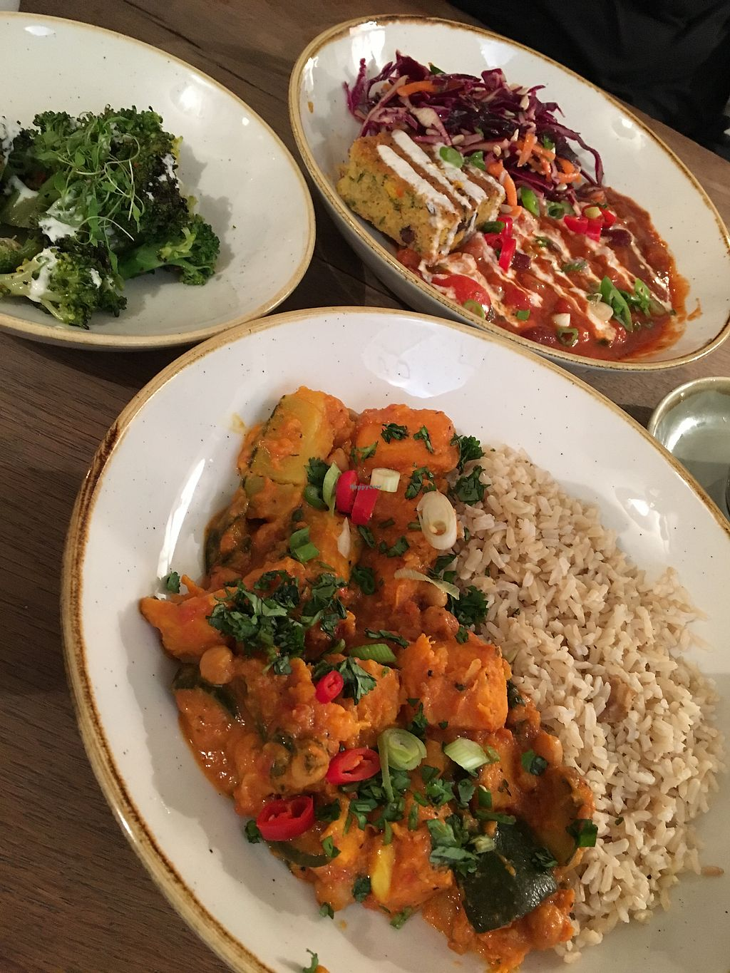 "Photo of CLOSED: Deliciously Ella - Seymour  by <a href=""/members/profile/Noe"">Noe</a> <br/>Curry and chilli sin carne <br/> October 10, 2017  - <a href='/contact/abuse/image/69750/314056'>Report</a>"