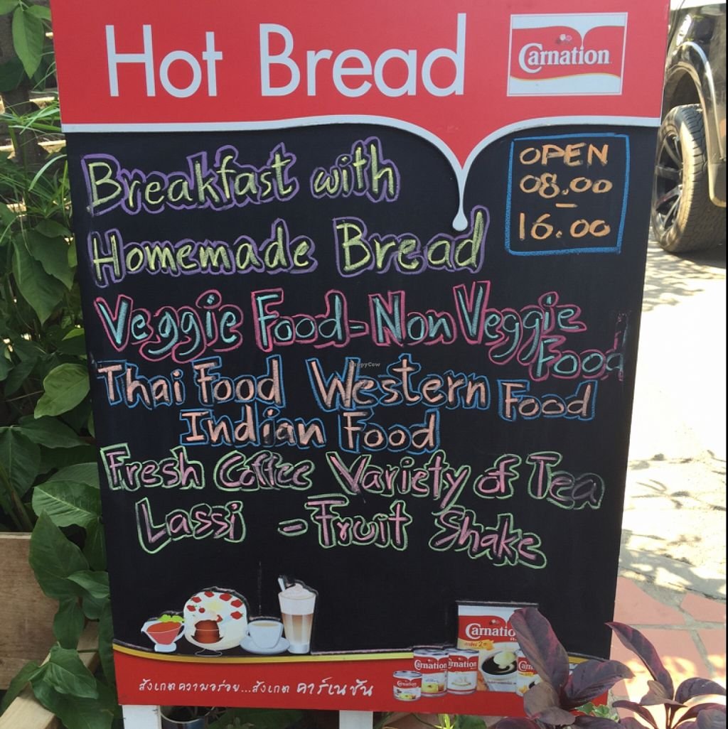 """Photo of Hot Bread  by <a href=""""/members/profile/ariamae"""">ariamae</a> <br/>Menu Sign <br/> February 18, 2016  - <a href='/contact/abuse/image/69782/136784'>Report</a>"""