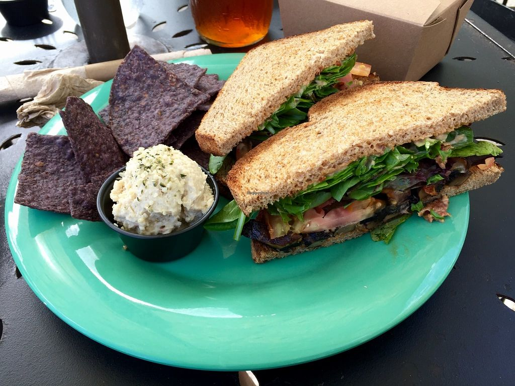"Photo of Dandelion Communitea Cafe  by <a href=""/members/profile/clovely.vegan"">clovely.vegan</a> <br/>Portabello sandwich! <br/> October 21, 2015  - <a href='/contact/abuse/image/6979/122037'>Report</a>"