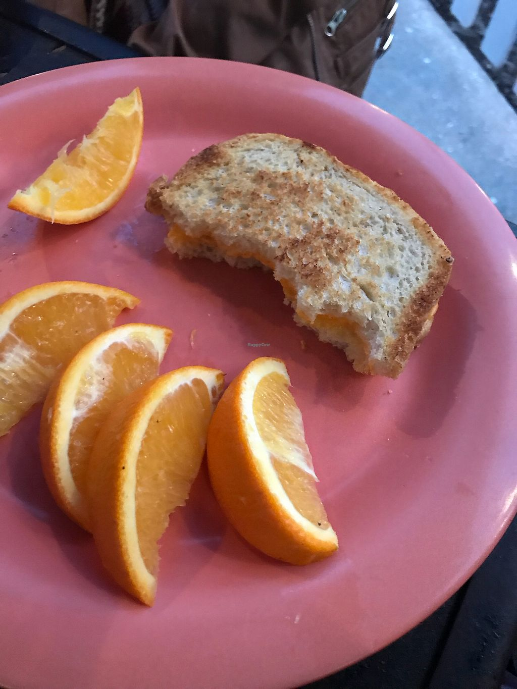 "Photo of Dandelion Communitea Cafe  by <a href=""/members/profile/Alexadhenn"">Alexadhenn</a> <br/>Kids grilled cheese with fruit  <br/> January 8, 2018  - <a href='/contact/abuse/image/6979/344517'>Report</a>"