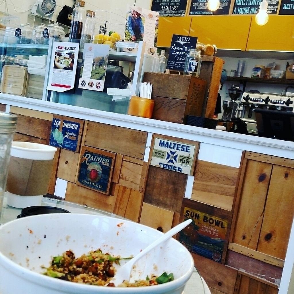 """Photo of Urban Beets Cafe & Juicery  by <a href=""""/members/profile/BrandonYoung"""">BrandonYoung</a> <br/>yum buddha bowl! <br/> May 23, 2017  - <a href='/contact/abuse/image/69802/261828'>Report</a>"""