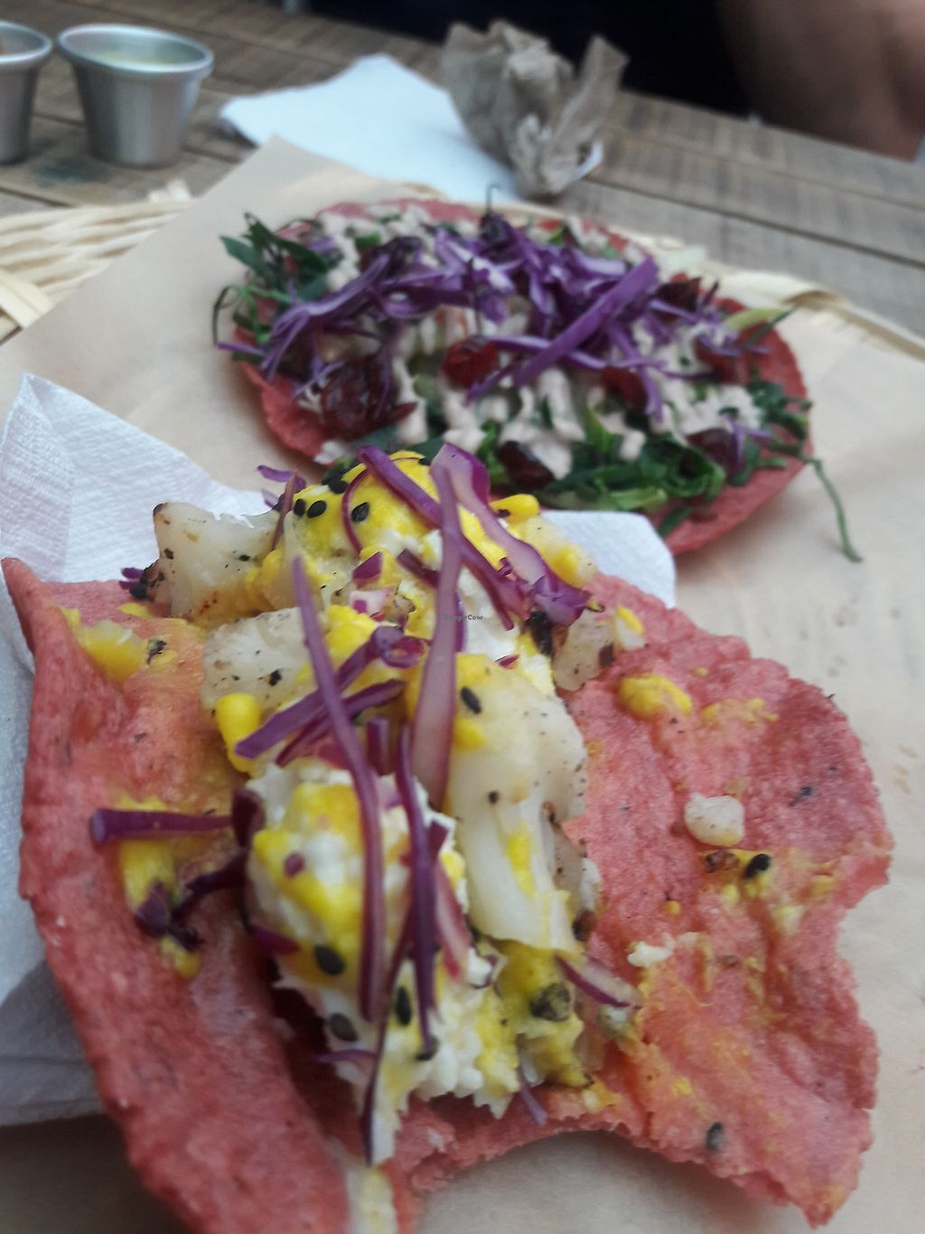 "Photo of La Pitahaya Vegana  by <a href=""/members/profile/DaniLove"">DaniLove</a> <br/>tacos ricos <br/> June 27, 2017  - <a href='/contact/abuse/image/69829/273917'>Report</a>"