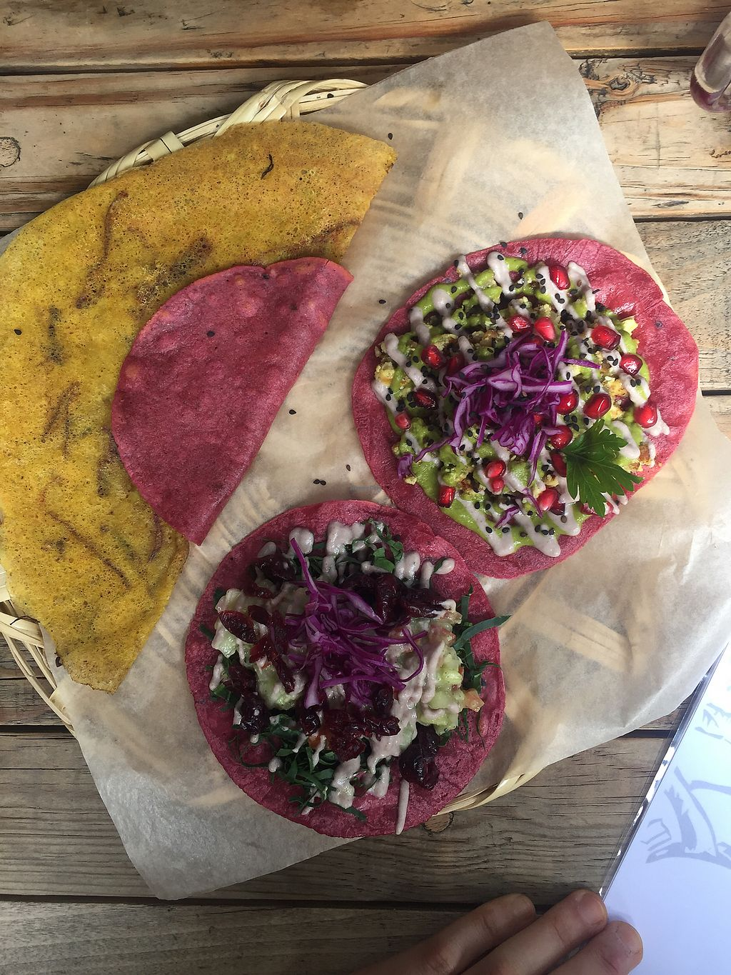 "Photo of La Pitahaya Vegana  by <a href=""/members/profile/FioMigliore"">FioMigliore</a> <br/>quesadilla que sabe a quesadilla <br/> October 6, 2017  - <a href='/contact/abuse/image/69829/312149'>Report</a>"