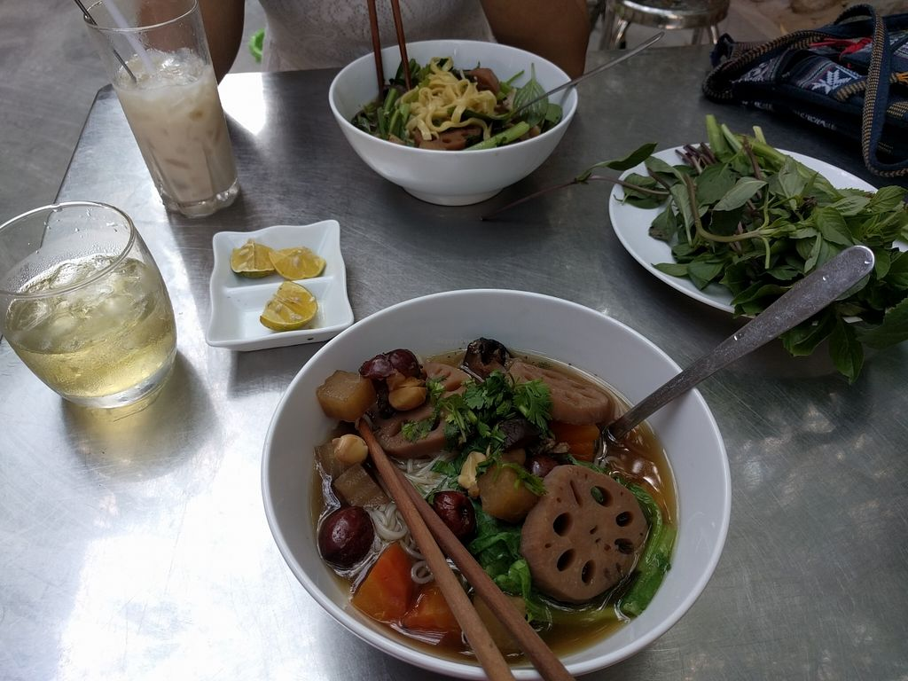 """Photo of Phuoc Tam  by <a href=""""/members/profile/aviso"""">aviso</a> <br/>Lotus root noodle soup <br/> March 24, 2016  - <a href='/contact/abuse/image/69840/141200'>Report</a>"""