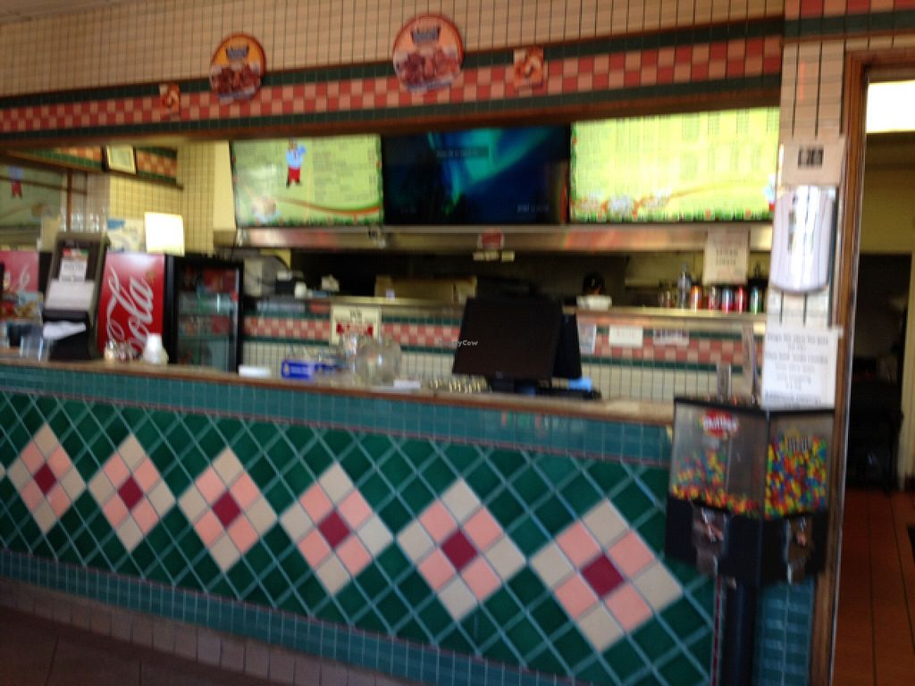"Photo of Lenzini's Pizza   by <a href=""/members/profile/Cathy133"">Cathy133</a> <br/>inside small - counter service with two tables <br/> February 20, 2016  - <a href='/contact/abuse/image/69842/137053'>Report</a>"