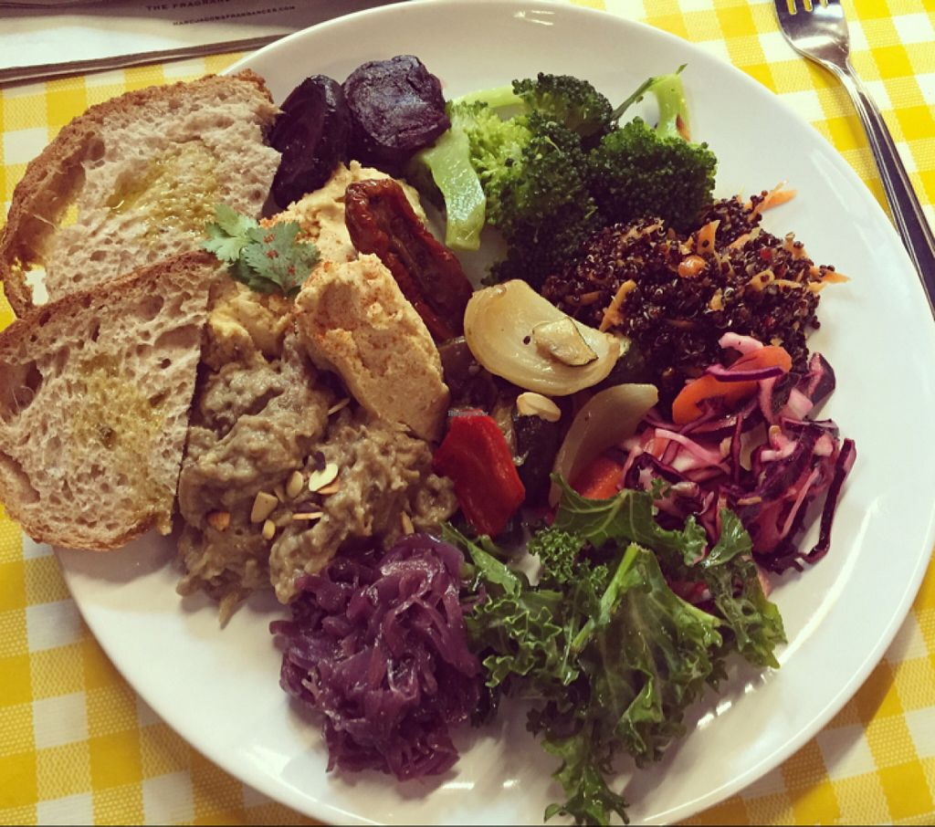 "Photo of Cafe Van Gogh  by <a href=""/members/profile/Emmeline%20H"">Emmeline H</a> <br/>another cracking healthy massive lunch! <br/> June 22, 2016  - <a href='/contact/abuse/image/69852/155474'>Report</a>"