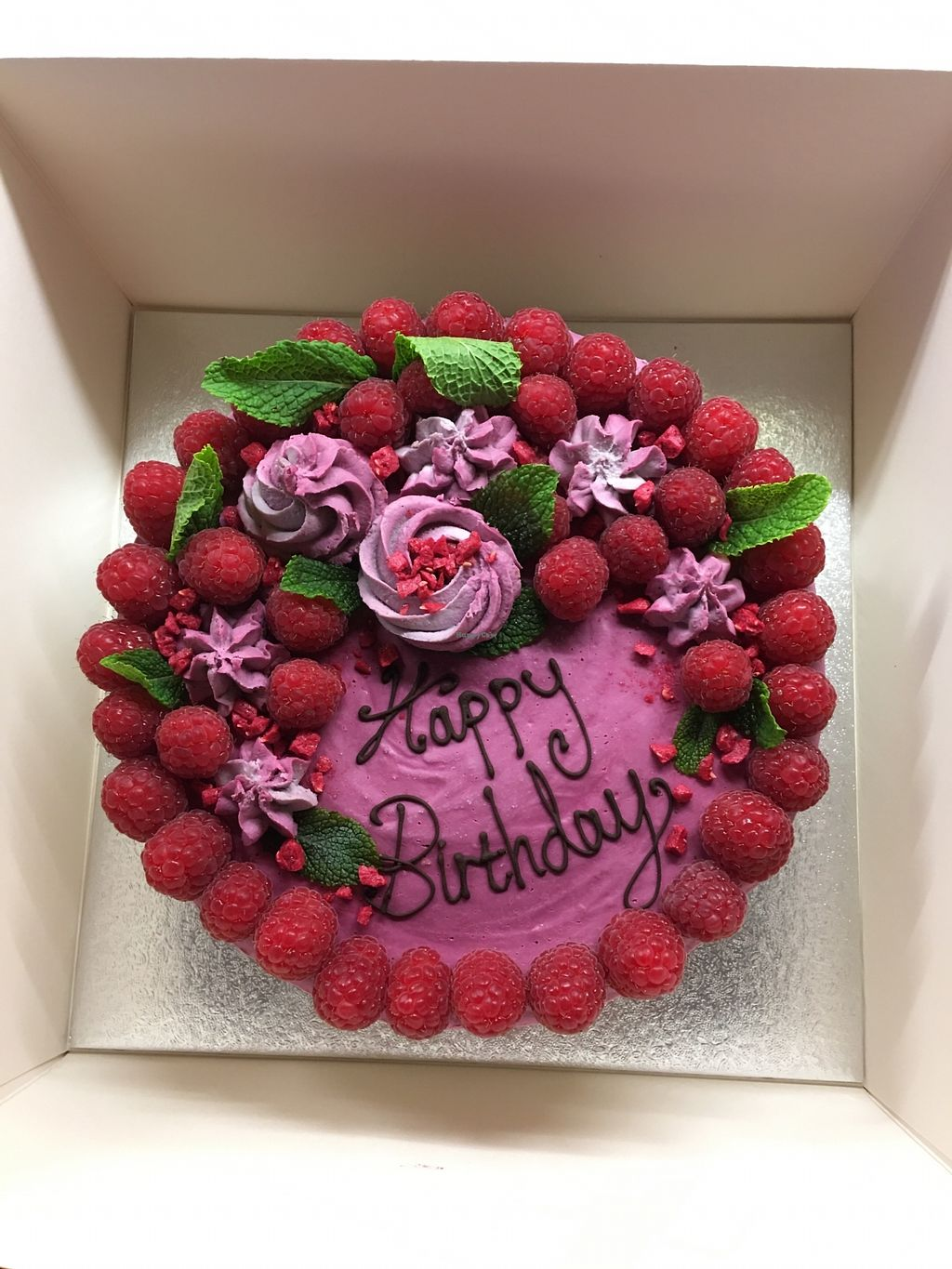 """Photo of The Juice Smith  by <a href=""""/members/profile/eralceralc"""">eralceralc</a> <br/>Beautiful and delicious raw birthday cake, delivered for my husbands birthday!  <br/> November 12, 2017  - <a href='/contact/abuse/image/69866/324862'>Report</a>"""