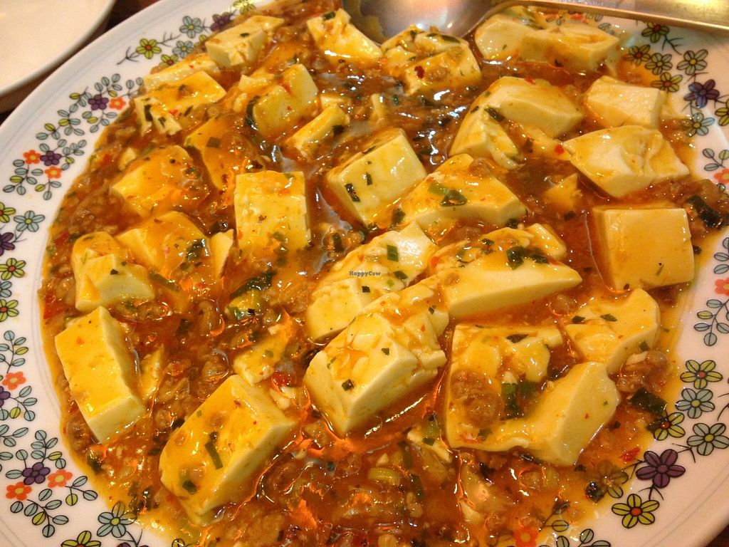 """Photo of Kinkarou  by <a href=""""/members/profile/FruitMonstar"""">FruitMonstar</a> <br/>Spicy vegan Mabo tofu <br/> March 24, 2016  - <a href='/contact/abuse/image/69880/141210'>Report</a>"""