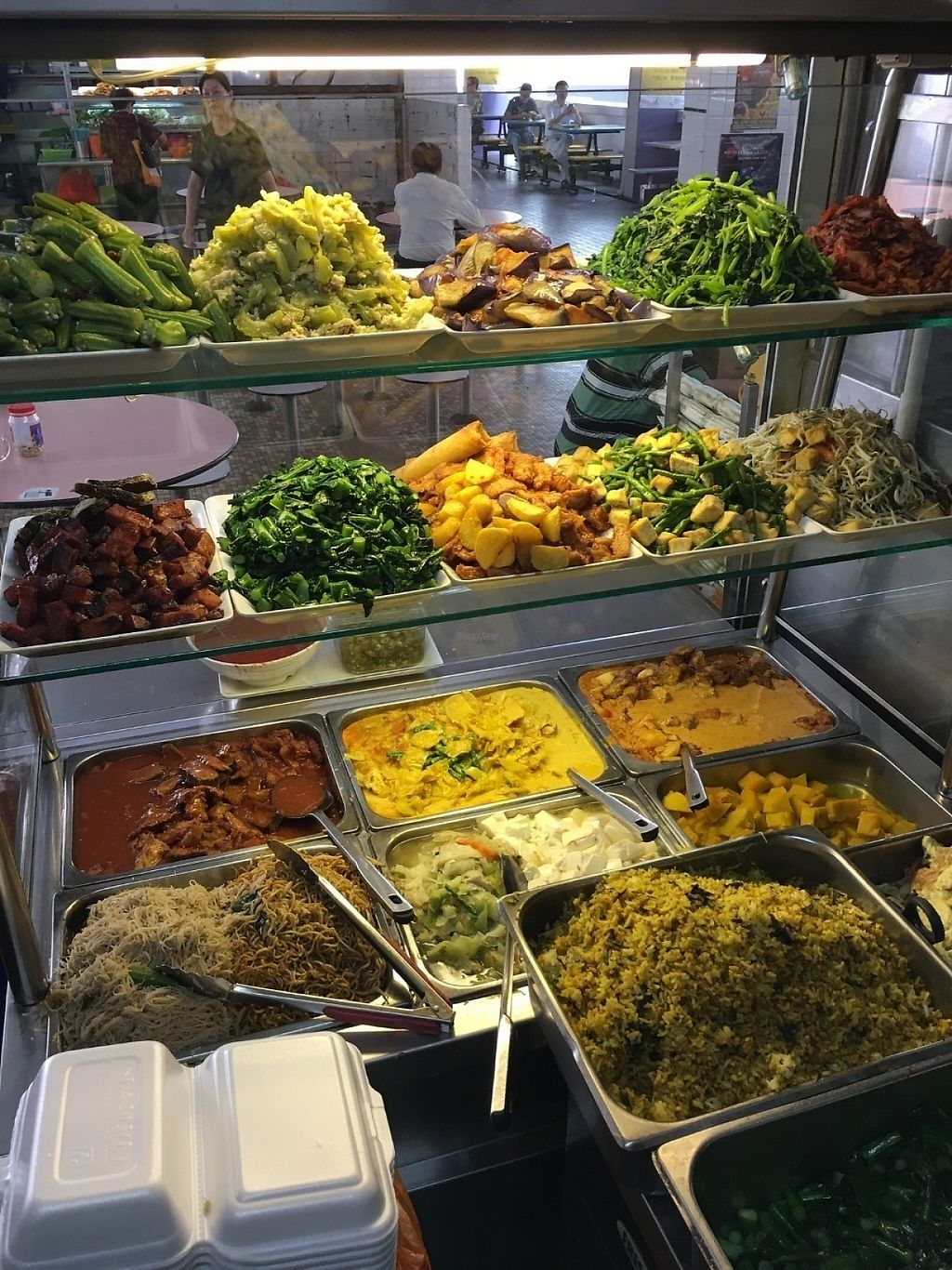 """Photo of CLOSED: Yum Yum Yummy Vegetarian - Ghim Moh Market  by <a href=""""/members/profile/Larrykoh"""">Larrykoh</a> <br/>Vegetarian food <br/> March 2, 2017  - <a href='/contact/abuse/image/69892/231954'>Report</a>"""