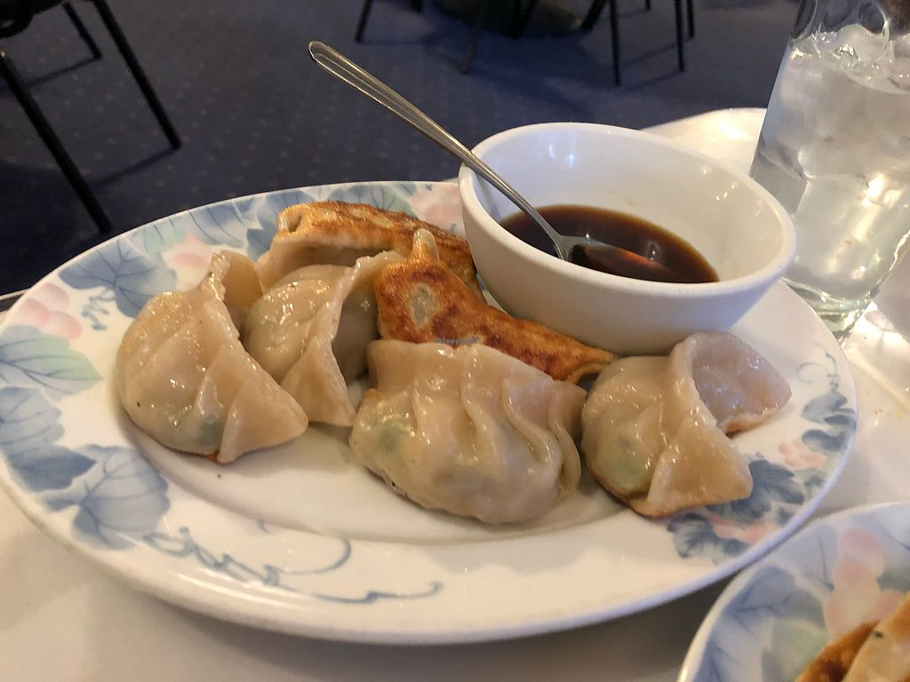 """Photo of China Chef  by <a href=""""/members/profile/yourmoderndayhippie"""">yourmoderndayhippie</a> <br/>Vegetable pot stickers (amazing!) <br/> March 6, 2018  - <a href='/contact/abuse/image/69912/367328'>Report</a>"""