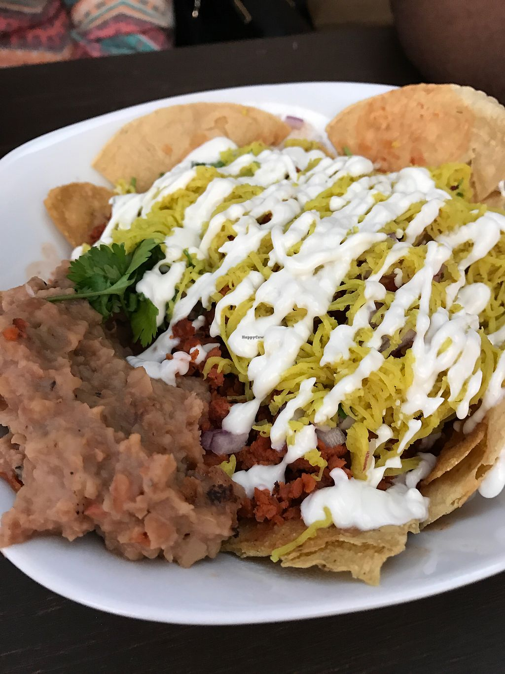 "Photo of VegAmo MX  by <a href=""/members/profile/KrsMnz"">KrsMnz</a> <br/>chilaquiles, yum <br/> August 18, 2017  - <a href='/contact/abuse/image/69913/294049'>Report</a>"