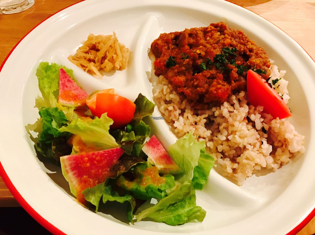 """Photo of Solum Cafe  by <a href=""""/members/profile/pammkins"""">pammkins</a> <br/>Veggie curry set  <br/> December 16, 2016  - <a href='/contact/abuse/image/69916/201662'>Report</a>"""