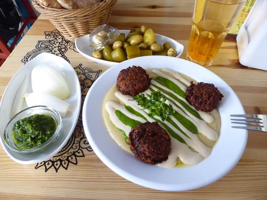 """Photo of Tahini Hummus  by <a href=""""/members/profile/VeganNatascha"""">VeganNatascha</a> <br/>Hummus <br/> June 4, 2017  - <a href='/contact/abuse/image/69977/265596'>Report</a>"""