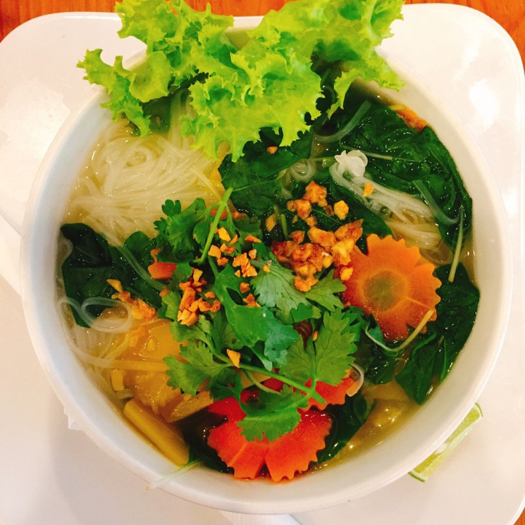 "Photo of Sister Srey Cafe  by <a href=""/members/profile/annilichi"">annilichi</a> <br/>khmer breakfast soup (vegan)  <br/> April 28, 2016  - <a href='/contact/abuse/image/69978/146648'>Report</a>"