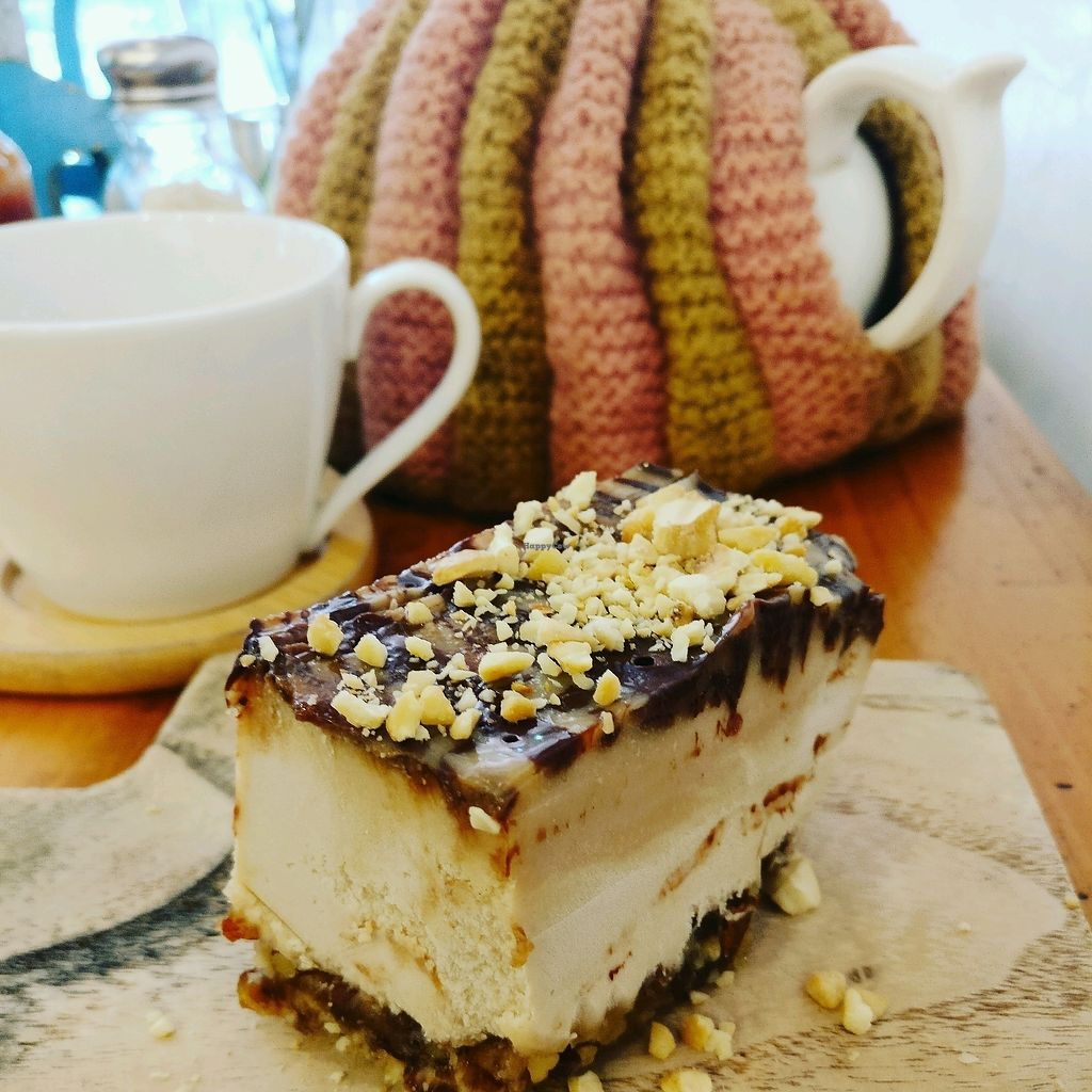 "Photo of Sister Srey Cafe  by <a href=""/members/profile/cdnvegan"">cdnvegan</a> <br/>Snickers - very large <br/> February 18, 2018  - <a href='/contact/abuse/image/69978/360767'>Report</a>"