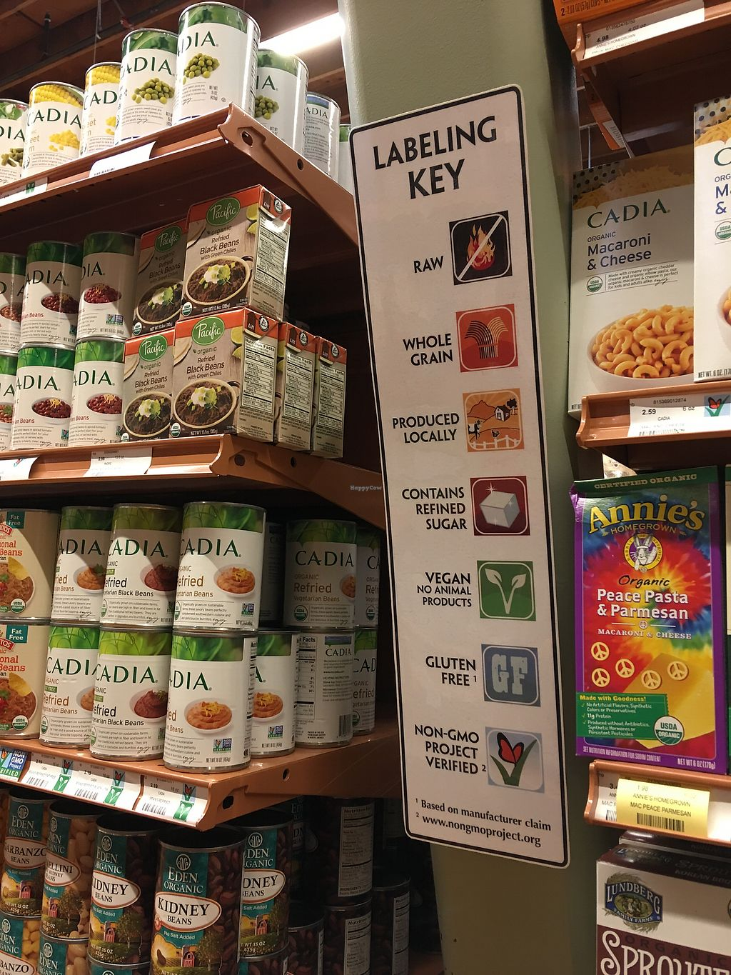 """Photo of Good Earth Natural Foods  by <a href=""""/members/profile/zwizki"""">zwizki</a> <br/>Labeling keys posted in grocery section and by the pastry case.  <br/> March 10, 2018  - <a href='/contact/abuse/image/69980/368635'>Report</a>"""