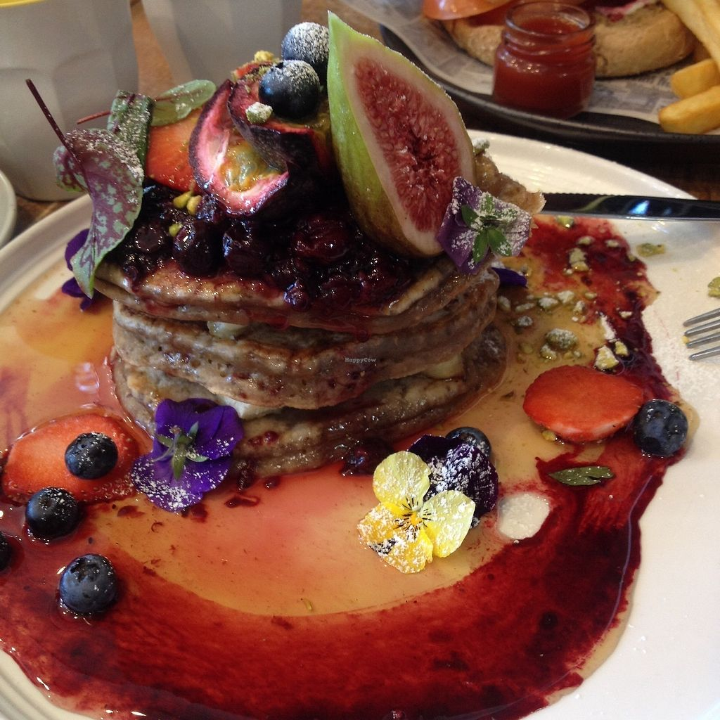 """Photo of Speedo's Cafe  by <a href=""""/members/profile/Ezey11"""">Ezey11</a> <br/> Egan pancakes  <br/> September 30, 2017  - <a href='/contact/abuse/image/69993/310054'>Report</a>"""