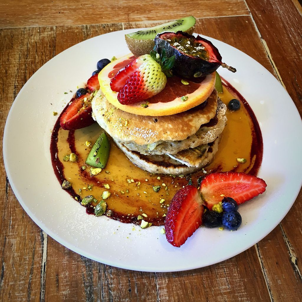 """Photo of Speedo's Cafe  by <a href=""""/members/profile/Mslanei"""">Mslanei</a> <br/>Banana and chia pancake <br/> November 8, 2017  - <a href='/contact/abuse/image/69993/323152'>Report</a>"""