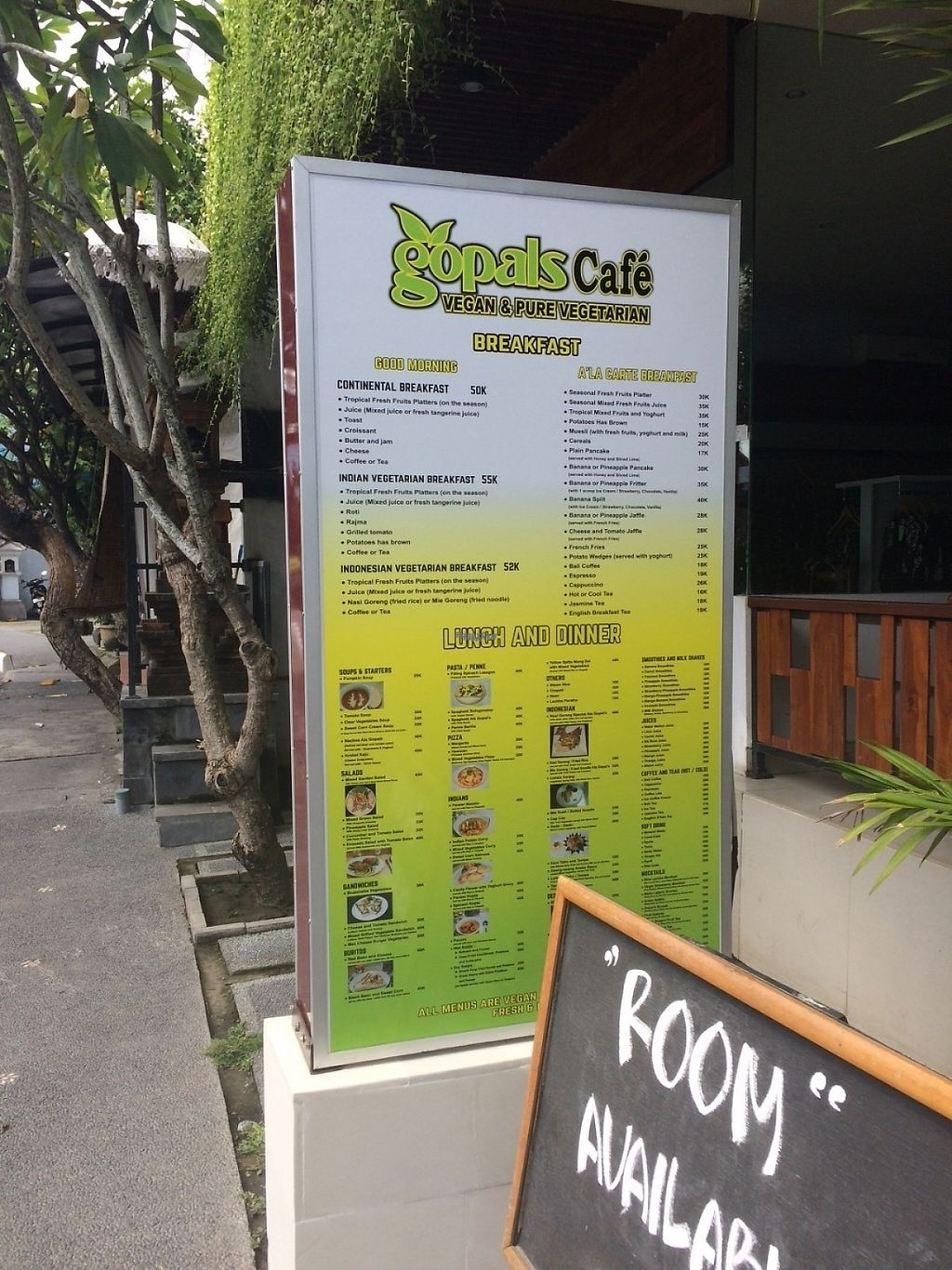 "Photo of Gopal's Cafe  by <a href=""/members/profile/fessther"">fessther</a> <br/>Front of cafe <br/> March 8, 2017  - <a href='/contact/abuse/image/70001/234040'>Report</a>"