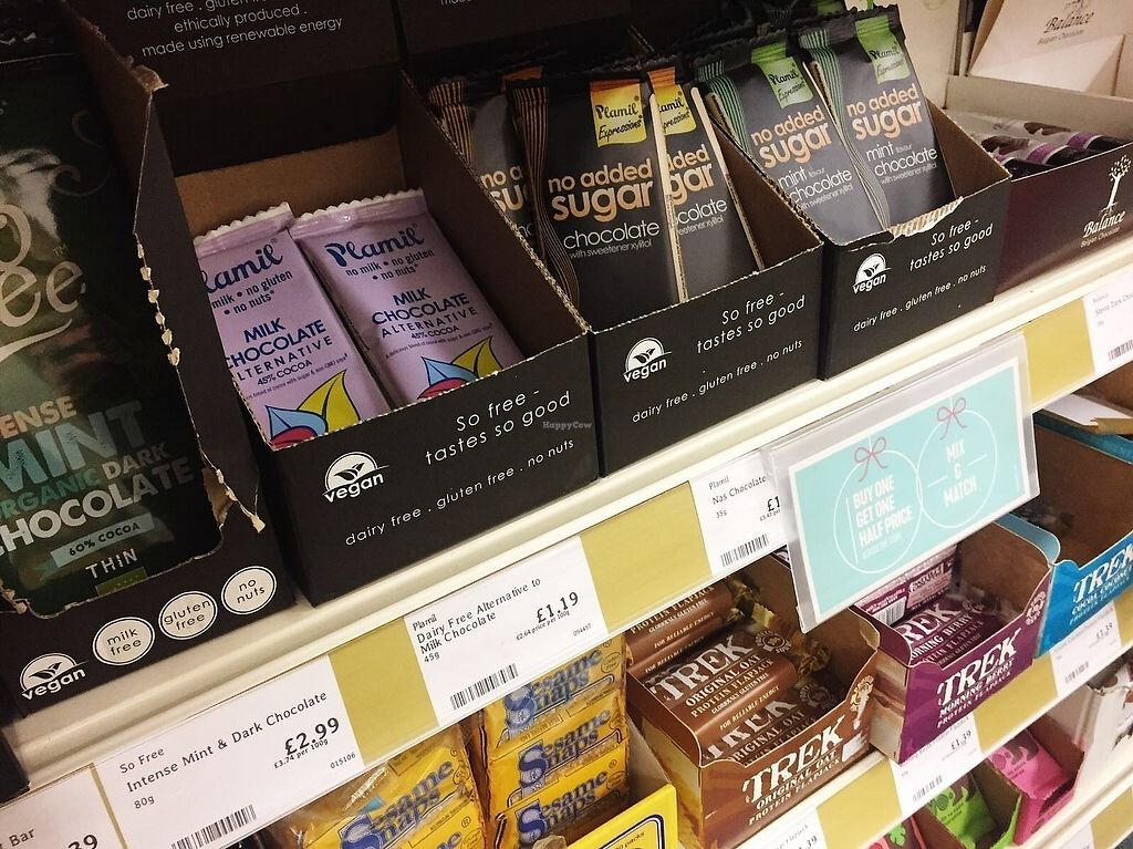 "Photo of Holland and Barrett  by <a href=""/members/profile/TARAMCDONALD"">TARAMCDONALD</a> <br/>More vegan goodies <br/> December 9, 2017  - <a href='/contact/abuse/image/70005/333895'>Report</a>"