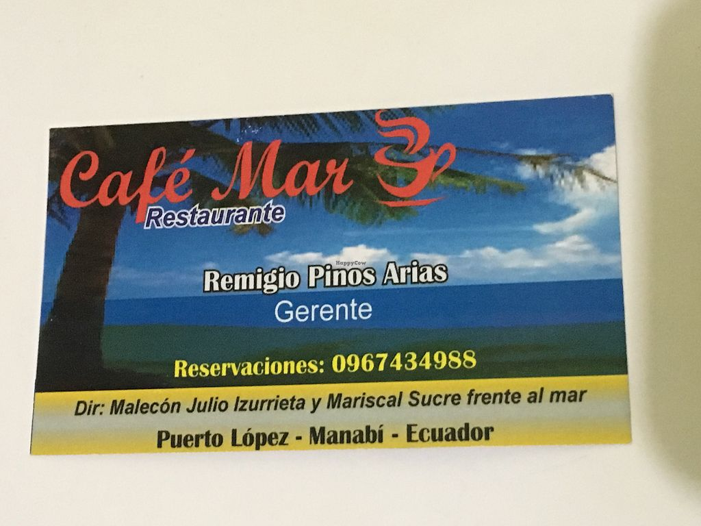 "Photo of Cafe Mar  by <a href=""/members/profile/peas-full"">peas-full</a> <br/>address <br/> September 30, 2017  - <a href='/contact/abuse/image/70023/310310'>Report</a>"