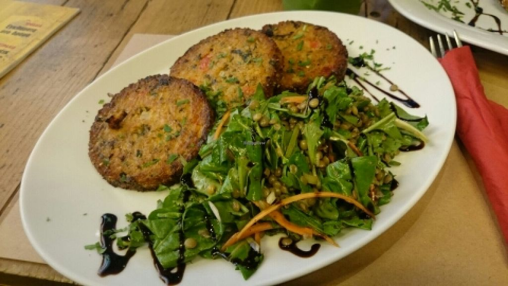 "Photo of CLOSED: Pure Bliss  by <a href=""/members/profile/Eirini%20Drakaki"">Eirini Drakaki</a> <br/>quinoa patties and side salad  <br/> May 16, 2016  - <a href='/contact/abuse/image/70025/149255'>Report</a>"