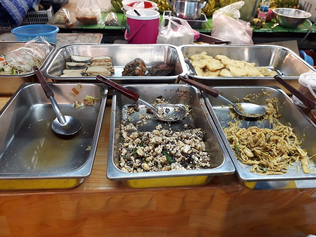 "Photo of Happy Mushroom - Food Stall  by <a href=""/members/profile/LilacHippy"">LilacHippy</a> <br/>Laab and other dishes <br/> October 20, 2017  - <a href='/contact/abuse/image/70044/316811'>Report</a>"