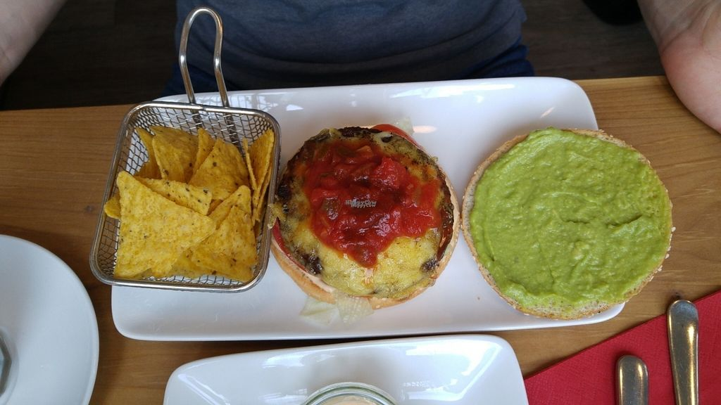 """Photo of Cafe Blattgold  by <a href=""""/members/profile/ZestyRoxy"""">ZestyRoxy</a> <br/>TexMex Burger <br/> November 7, 2016  - <a href='/contact/abuse/image/70055/187170'>Report</a>"""