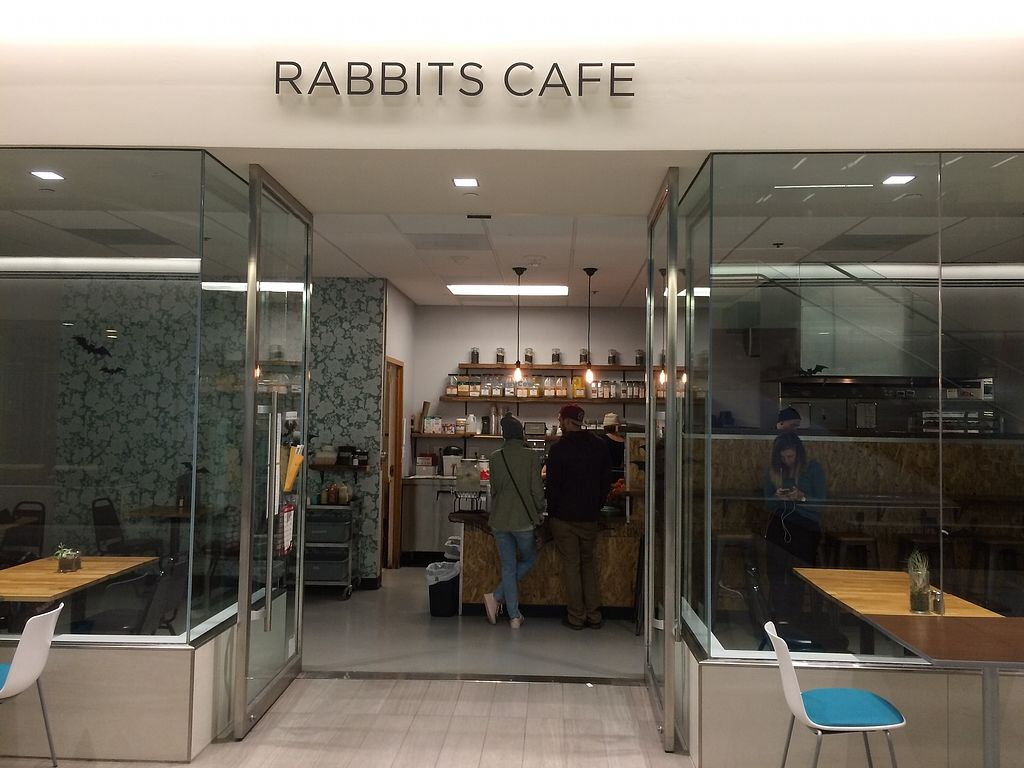 "Photo of Rabbits Cafe  by <a href=""/members/profile/Mdrutz"">Mdrutz</a> <br/>Front door <br/> October 18, 2017  - <a href='/contact/abuse/image/70084/316426'>Report</a>"