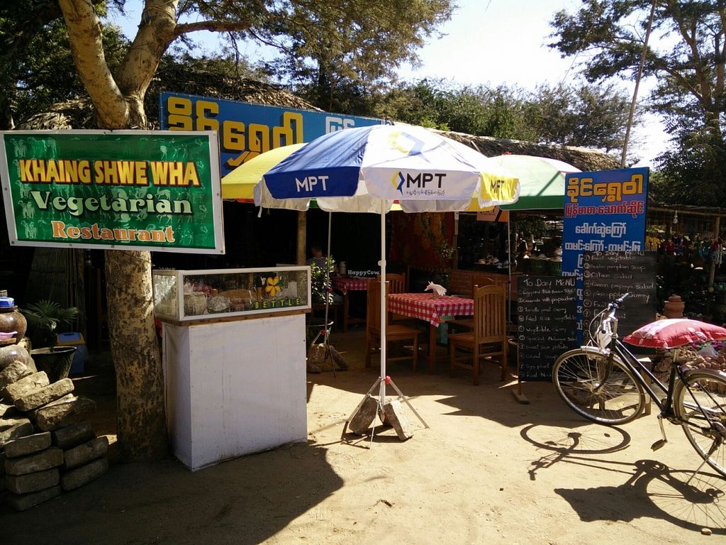 """Photo of Khaing Shwe Wha Vegetarian Restaurant  by <a href=""""/members/profile/kashmere.kitty"""">kashmere.kitty</a> <br/>Front of restaurant <br/> April 8, 2016  - <a href='/contact/abuse/image/70107/143315'>Report</a>"""