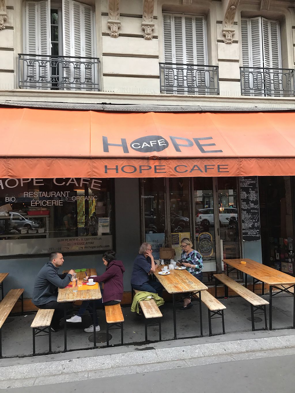 "Photo of Hope Cafe  by <a href=""/members/profile/ClareMitchell"">ClareMitchell</a> <br/>shop front, diamond in the ruff <br/> August 17, 2017  - <a href='/contact/abuse/image/70144/293769'>Report</a>"