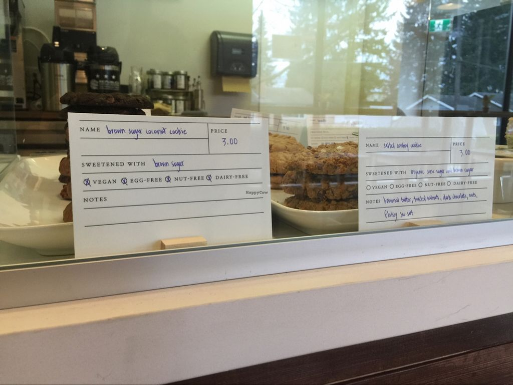 """Photo of The Polly Fox Bakery and Bistro  by <a href=""""/members/profile/MatthewMcEwan"""">MatthewMcEwan</a> <br/>Vegan and dairy cookies. All gluten free and organic.  <br/> March 1, 2016  - <a href='/contact/abuse/image/70159/138369'>Report</a>"""