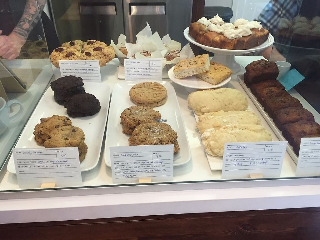 """Photo of The Polly Fox Bakery and Bistro  by <a href=""""/members/profile/kels.the.veg."""">kels.the.veg.</a> <br/>Look at all the choices!!! <br/> November 25, 2016  - <a href='/contact/abuse/image/70159/194090'>Report</a>"""