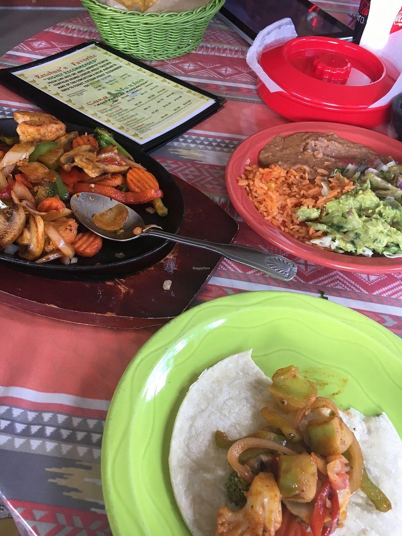 "Photo of Casa Mexico  by <a href=""/members/profile/JamieJax563"">JamieJax563</a> <br/>Veggie Fajitas ?? <br/> June 28, 2017  - <a href='/contact/abuse/image/70197/274540'>Report</a>"