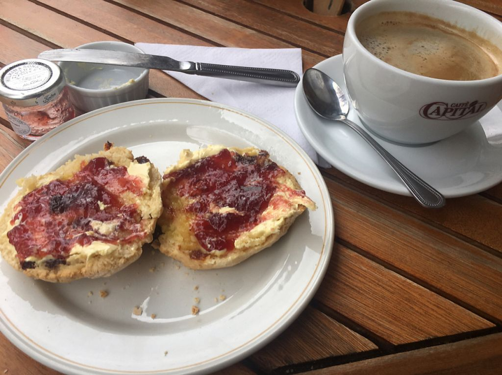 """Photo of Green and Pleasant Tea Room  by <a href=""""/members/profile/RealGandy"""">RealGandy</a> <br/>scones <br/> April 23, 2017  - <a href='/contact/abuse/image/70202/251413'>Report</a>"""