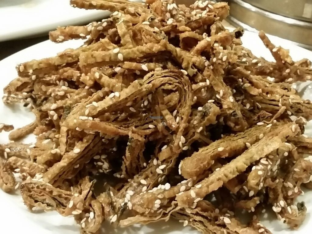 """Photo of Fine Garden  by <a href=""""/members/profile/eric"""">eric</a> <br/>fried sesame vegan anchovies <br/> January 2, 2017  - <a href='/contact/abuse/image/7020/207049'>Report</a>"""