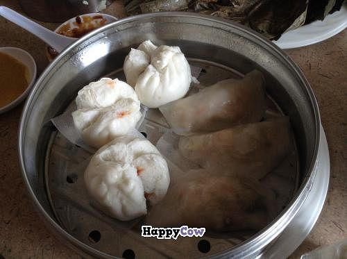 """Photo of Fine Garden  by <a href=""""/members/profile/spiceislandvegan"""">spiceislandvegan</a> <br/>Veg Char Siu Bao.  Haven't eaten like this for a while.  Sweet! <br/> October 27, 2013  - <a href='/contact/abuse/image/7020/57417'>Report</a>"""