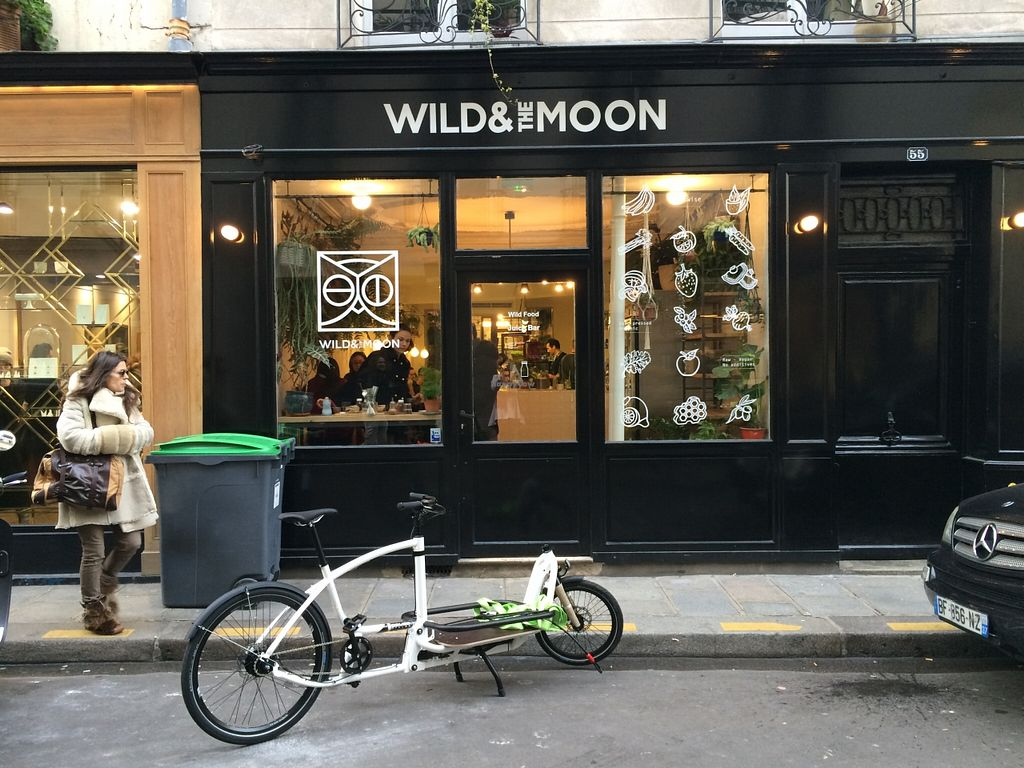 """Photo of Wild & The Moon - rue Charlot  by <a href=""""/members/profile/LisaCupcake"""">LisaCupcake</a> <br/>Front of restaurant <br/> February 27, 2016  - <a href='/contact/abuse/image/70212/137957'>Report</a>"""