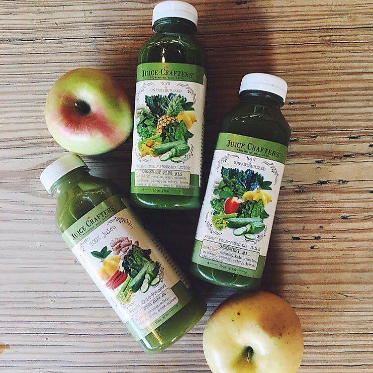 """Photo of Juice Crafters  by <a href=""""/members/profile/JuiceCrafters"""">JuiceCrafters</a> <br/>GREEN FORCE Cold Pressed Juices! <br/> January 10, 2018  - <a href='/contact/abuse/image/70213/345221'>Report</a>"""