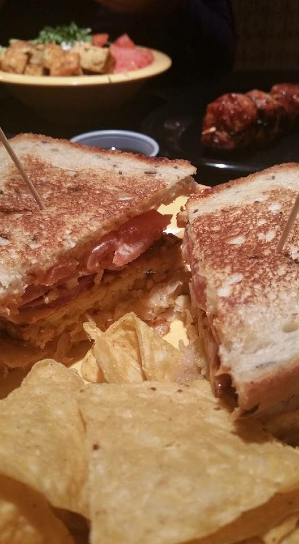 "Photo of Cafe Yumm  by <a href=""/members/profile/Arthousebill"">Arthousebill</a> <br/>Tempeh rueben <br/> April 2, 2016  - <a href='/contact/abuse/image/70215/142449'>Report</a>"