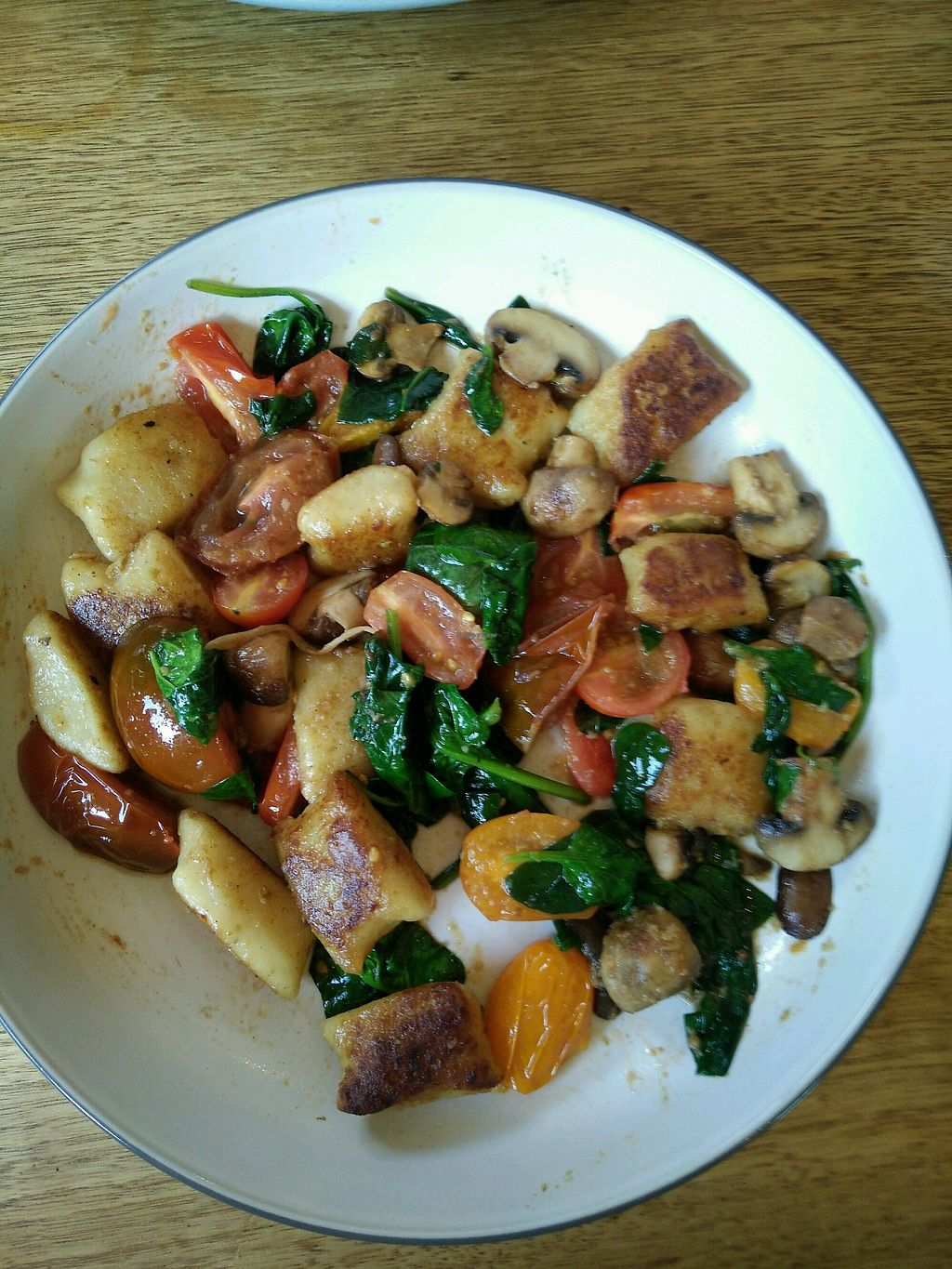 "Photo of Nanna Kerr's Kitchen  by <a href=""/members/profile/JenniferJ"">JenniferJ</a> <br/>Vegan gnocchi <br/> April 25, 2018  - <a href='/contact/abuse/image/70228/390777'>Report</a>"