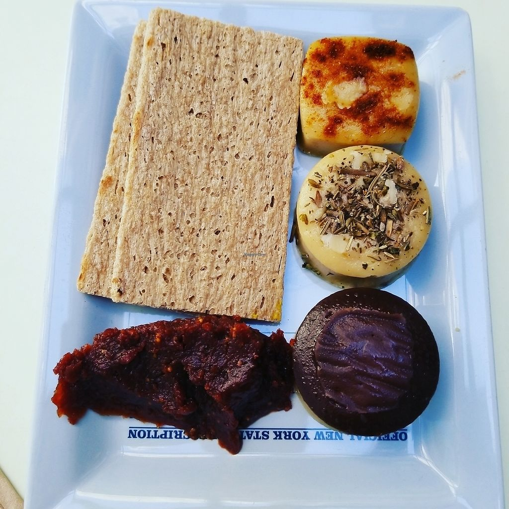 """Photo of Le Botaniste  by <a href=""""/members/profile/tikhonova87"""">tikhonova87</a> <br/>Cheese plate. so so so delicious!!! <br/> July 30, 2017  - <a href='/contact/abuse/image/70277/286718'>Report</a>"""