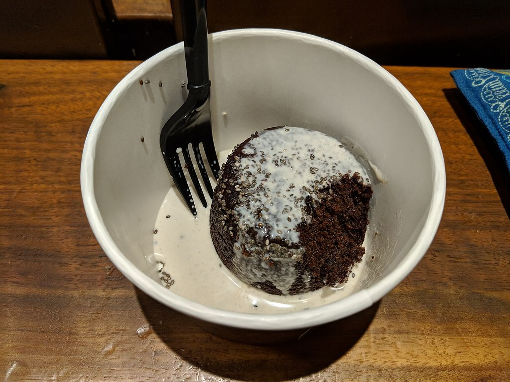 """Photo of Le Botaniste  by <a href=""""/members/profile/OliviaMarie"""">OliviaMarie</a> <br/>Omega three brownie with what I believe is an almond based creme <br/> March 23, 2018  - <a href='/contact/abuse/image/70277/374679'>Report</a>"""